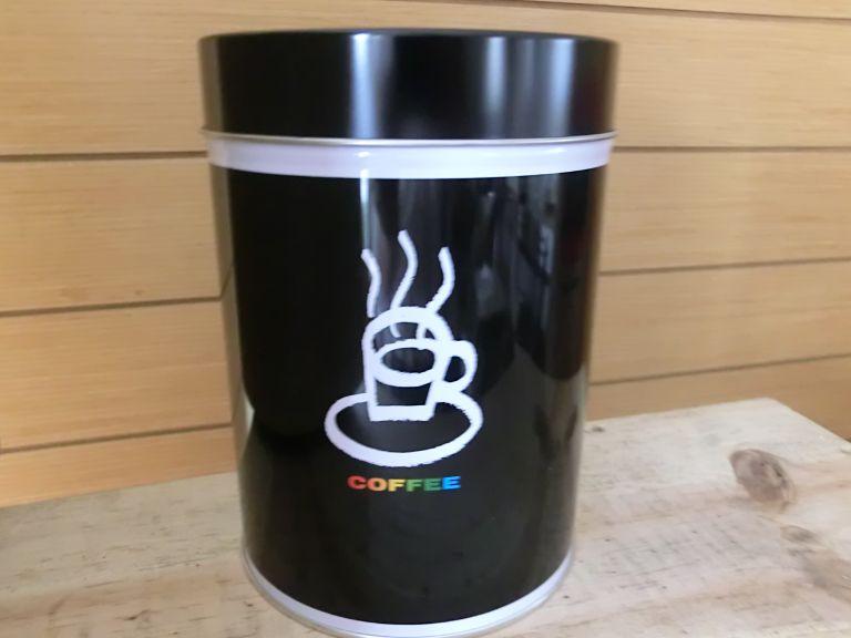 コーヒー豆保存缶