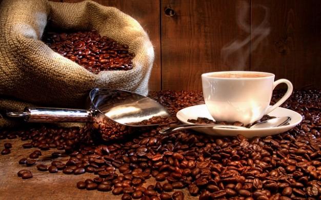 香り高いコーヒー